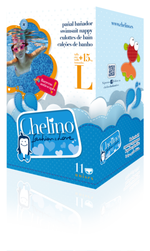 CHELINO FASHION & LOVE SWIMMERS T/L (+15 kg)