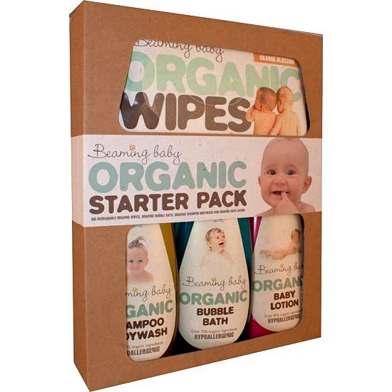 BEAMING BABY STARTER PACK ORGANICO