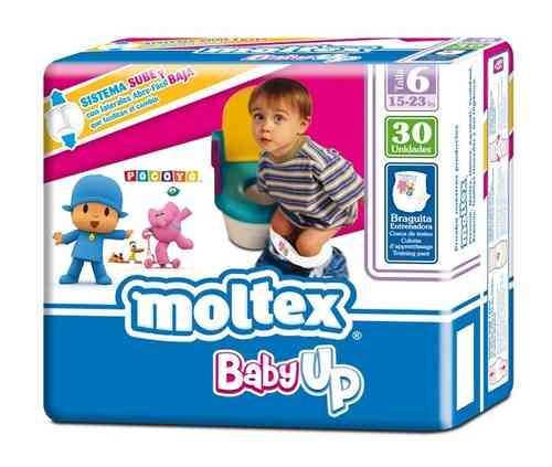 MOLTEX BABY UP Talla 6 15-23 kg (30 uds)