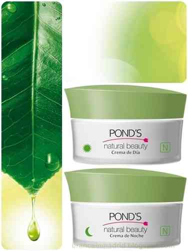 PACK POND'S NATURAL BEAUTY CREMA DE DIA+CREMA DE NOCHE
