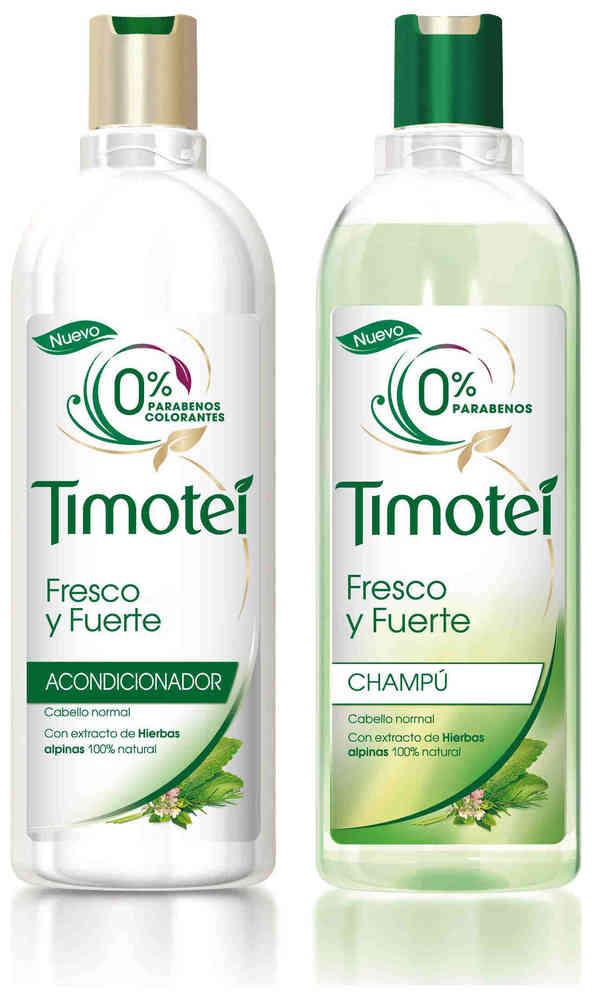 PACK TIMOTEI FRESCO Y PURO (CHAMPU + ACONDICIONADOR)- Bebés&Mamis