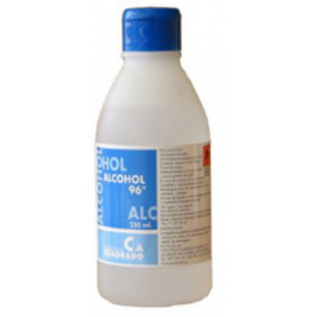 ALCOHOL 96º CUADRADO 250 ml