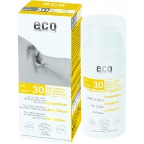 PROTECTOR SOLAR NATURAL F30 ECO COSMETICS PIEL SENSIBLE