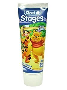 ORAL-B STAGES WINNIE THE POO DENTIFRICO FRUTAS DEL BOSQUE