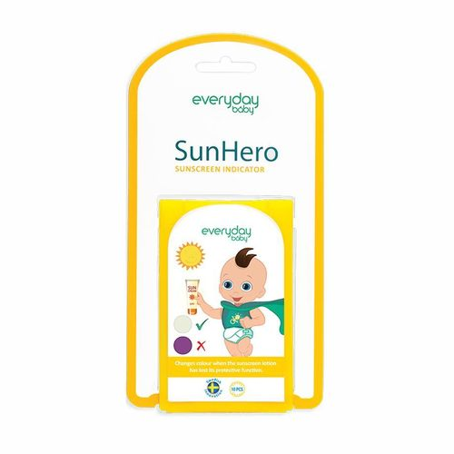 INDICADOR PROTECCION SOLAR SUN HERO EVERYDAY BABY 10 uds