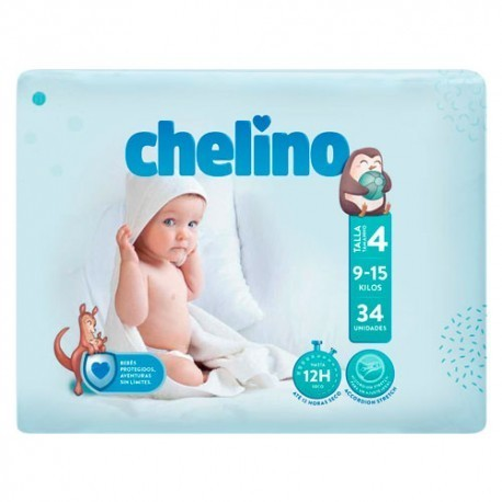 CHELINO FASHION & LOVE T4 9/15 kg (34 uds)