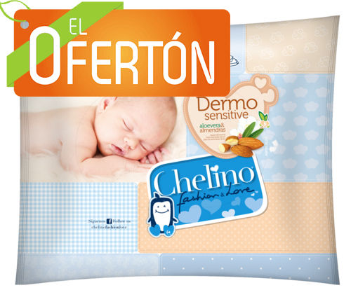 CHELINO FASHION & LOVE TOALLITAS 20 uds.