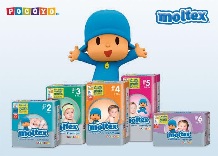 ba38a699ff19 MOLTEX PREMIUM TALLA 2 3/6 kg (70 uds) - Bebés&Mamis