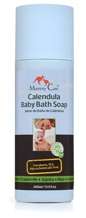 JABON DE BAÑO DE CALENDULA ECOLOGICO MOMMY CARE 200 ml