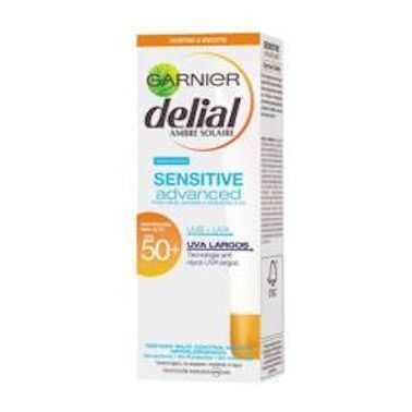 DELIAL CREMA ROSTRO Y ESCOTE SENSITIVE ADVANCED FPS 50+