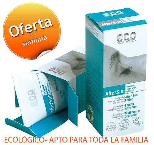 AFTERSUN ECOLOGICO ECO COSMETICS 75 ml