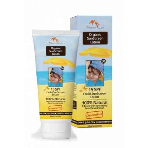 CREMA SOLAR FACIAL ORGANICA MOMMY CARE