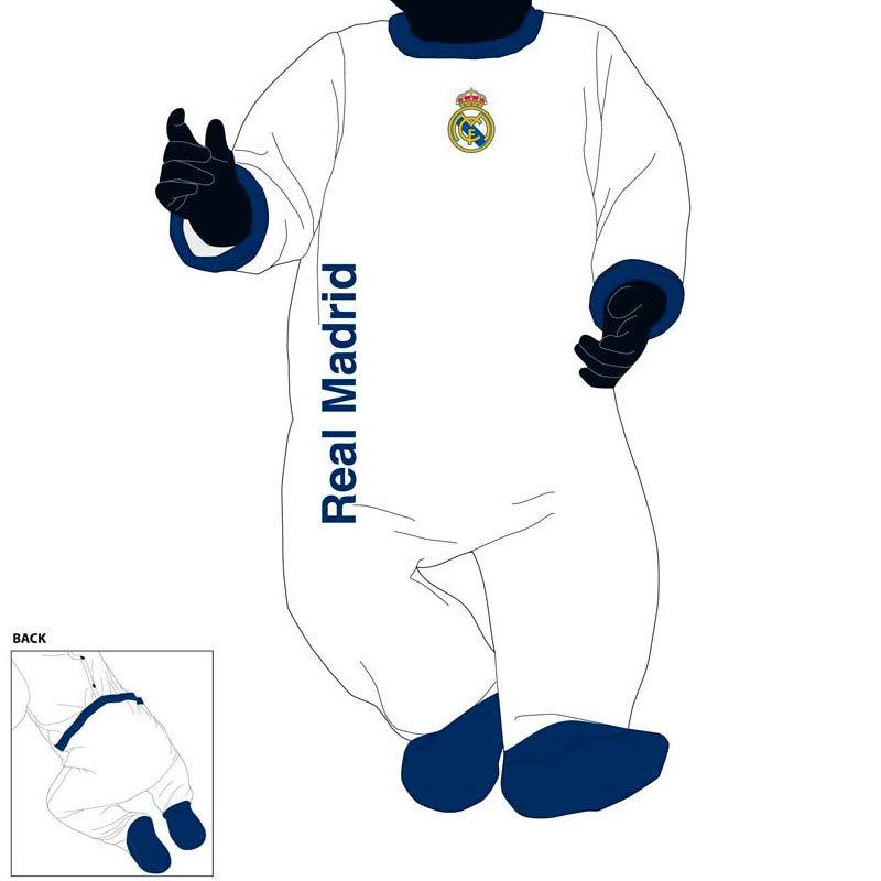 Desconocido Pelele beb/é Atl/ético de Madrid 3Meses