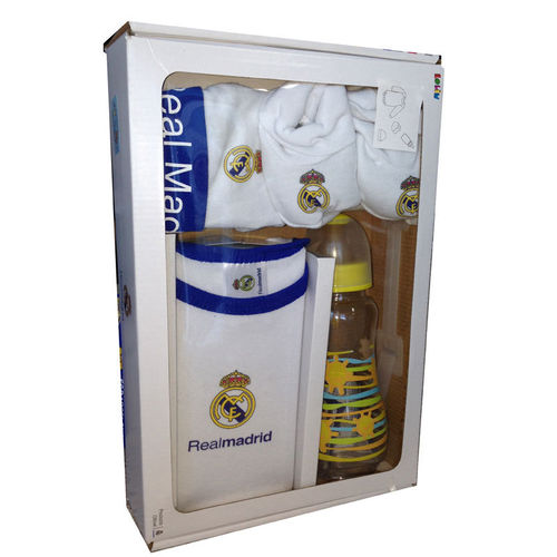 SET OFICIAL BEBÉ REAL MADRID 4 pzs