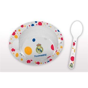 SET BOL + CUCHARA MICROONDAS OFICIAL REAL MADRID