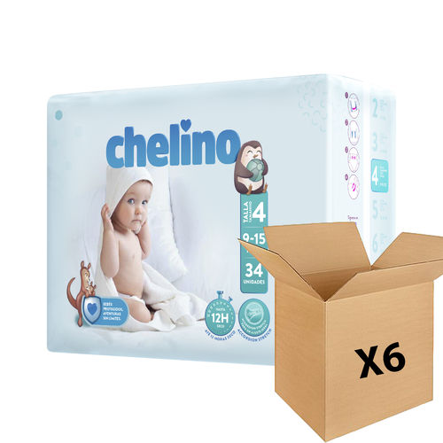CHELINO FASHION & LOVE T4 9/15 kg (204 uds)