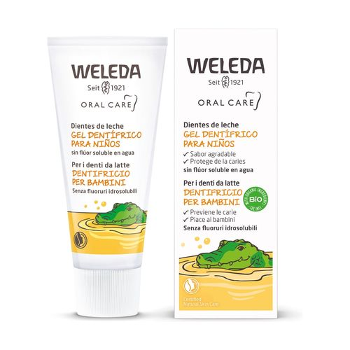 GEL DENTIFRICO PARA NIÑOS NATURAL WELEDA