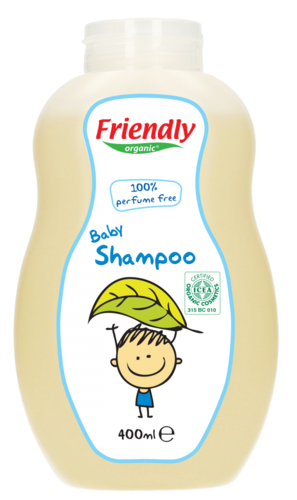 CHAMPU ECOLOGICO SIN PERFUME FRIENDLY ORGANIC 400 ml