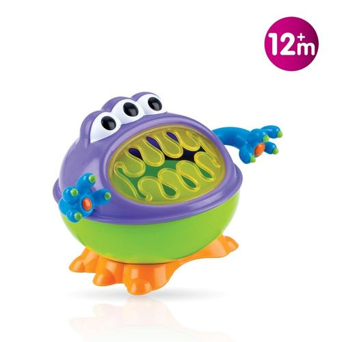 RECIPIENTE SNACKS iMONSTER NUBY 12m+