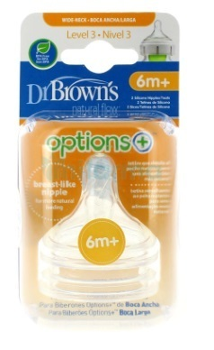 PACK 2 TETINAS DR BROWN´S OPTIONS+ NIVEL 3