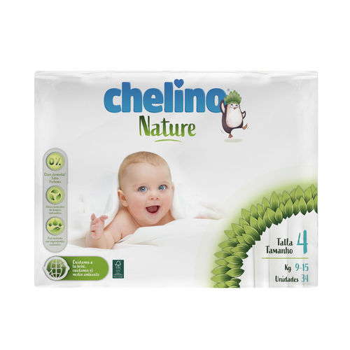 CHELINO NATURE T4 9-15 Kg  34 uds