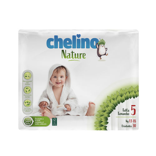CHELINO NATURE T5 13-18 Kg  30 uds